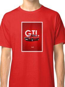 Golf GTI Classic Car Advert Classic T-Shirt