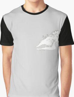 Giraffe skull Graphic T-Shirt