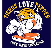Tigers Love Peppers Photographic Print
