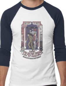 Time Travelers Men's Baseball ¾ T-Shirt