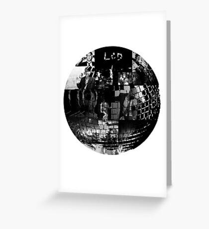 LCD Soundsystem - Disco ball Greeting Card