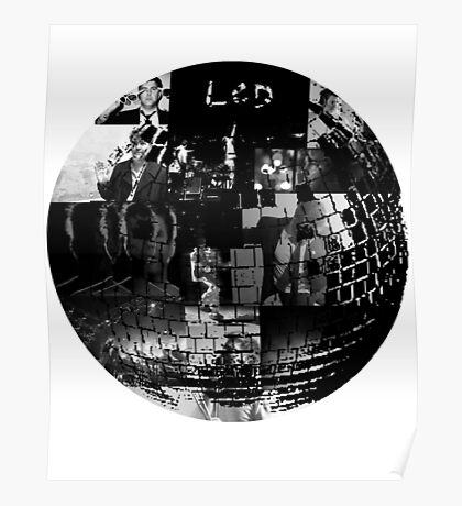 LCD Soundsystem - Disco ball Poster