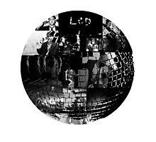 LCD Soundsystem - Disco ball Photographic Print