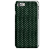 Green Forest Dragon Scales iPhone Case/Skin