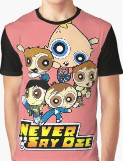 Powerpuff Goonies Never Say Die Graphic T-Shirt