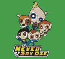 Powerpuff Goonies Never Say Die One Piece - Short Sleeve