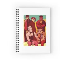 Look at this photograph Spiral Notebook
