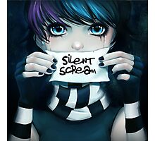 Silent Scream- Anna Photographic Print