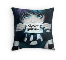 Silent Scream- Anna Throw Pillow