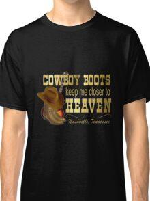 Nashville Cowboy Boots Classic T-Shirt