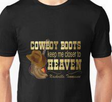 Nashville Cowboy Boots Unisex T-Shirt