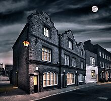 As Darkness Falls on King Street by Geoff Carpenter