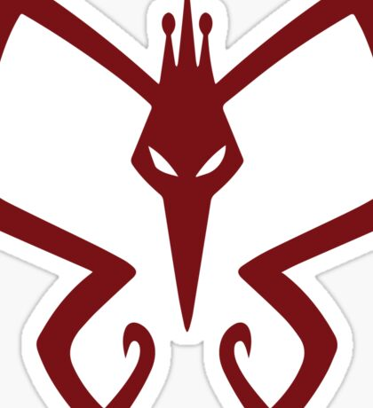 The Monarch's Logo Sticker