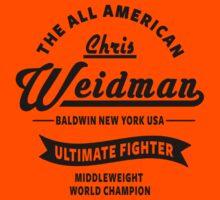 Chris Weidman Kids Tee