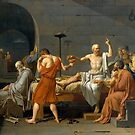The Death of Socrates by warishellstore