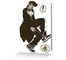Josuke, Who Are You Wearing? Greeting Card