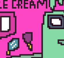 Pixel Ice Cream Truck - Melanie Martinez Tattoos Sticker