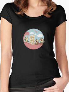 2015: a space odyssey Women's Fitted Scoop T-Shirt