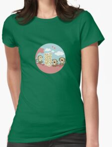 2015: a space odyssey Womens Fitted T-Shirt