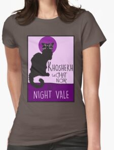 welcome to night vale Womens Fitted T-Shirt
