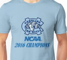 North Carolina Tar Heels NCAA 2016 Champions Unisex T-Shirt