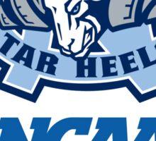 North Carolina Tar Heels NCAA 2016 Champions Sticker