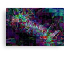 Dissection of a bottle brush Canvas Print