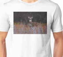 A regal stance - White-tailed Deer Unisex T-Shirt