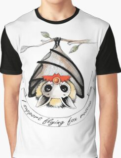 I support flying-fox rescue Graphic T-Shirt