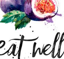 Fig - Eat well, travel often Sticker