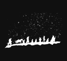 fellowship under starry sky Kids Tee