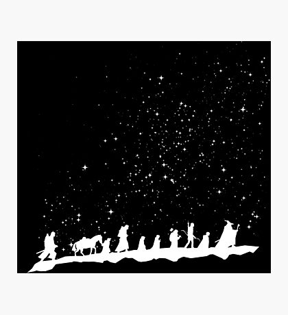 fellowship under starry sky Photographic Print