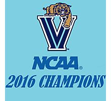 Villanova Wildcats 2016 NCAA Champions Photographic Print