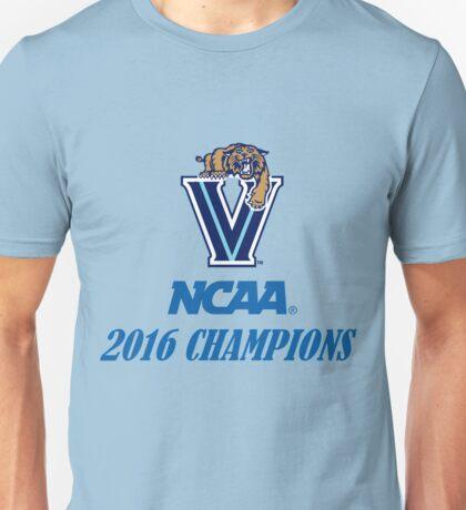 Villanova Wildcats 2016 NCAA Champions Unisex T-Shirt