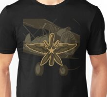Retro insignia of soviet RKKA air force Unisex T-Shirt