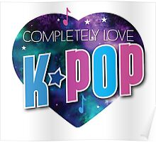 Completely love kpop (heart universe) Poster