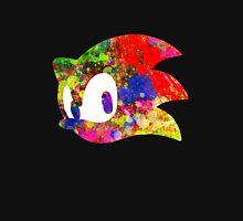 Sonic logo (painting) Unisex T-Shirt