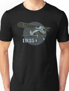 Retro fighter plane Unisex T-Shirt
