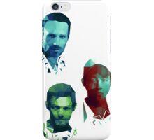 The Walking Dead Rick, Daryl and Glenn iPhone Case/Skin