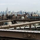 Manhattan View from Brooklyn Bridge by Lee Whitmarsh