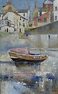 Bay Joe, Staithes Beck by Sue Nichol