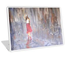 """Rain in the City"" Laptop Skin"
