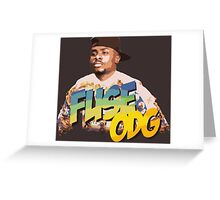 fuse odg Greeting Card