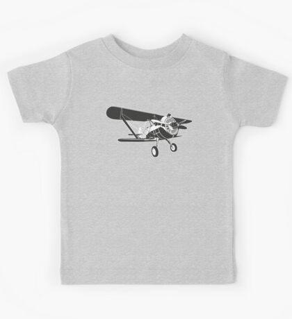 Retro fighter plane Kids Tee