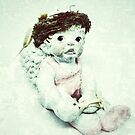 Ballerina Angel Cherub in Pink Ballet Slippers by OneDayOneImage Photography