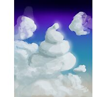Cloud Poop Photographic Print