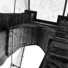 Brooklyn Bridge New York Black & White by Lee Whitmarsh