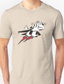Cartoon crazy jet fighter T-Shirt
