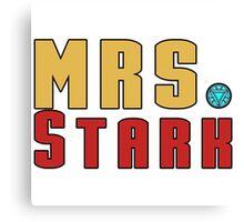 Mrs Stark Canvas Print