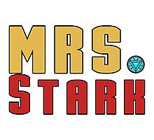 Mrs Stark Photographic Print
